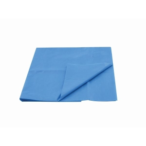 Bed Sheet, Disposable, Waterproof, CPE, Blue, 200 x 90cm product photo