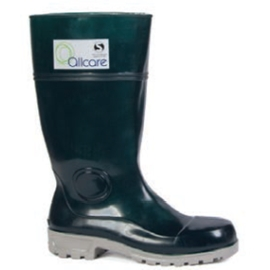 Non Safety PU Gumboot Green product photo