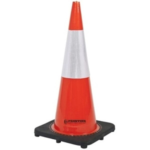 Reflective Traffic Cone Orange/White 700mm product photo