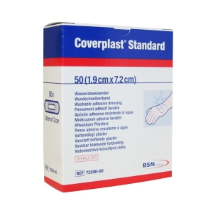 Coverplast Plastic Dressing Strip, 1.9 x 7.2cm product photo