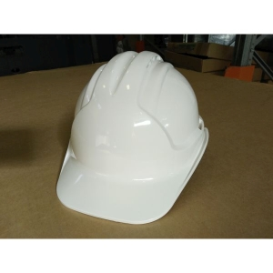Safety Hard Hat 6 Point Premium Cradle White product photo