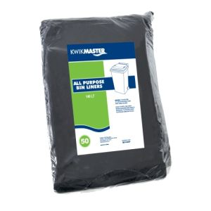 ALL PURPOSE NATURAL BIN LINER PACK 120L-140L product photo