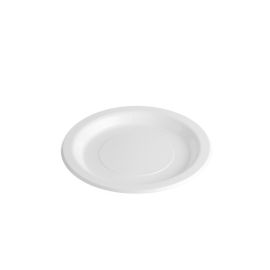 Plastic Plate White 216mm product photo