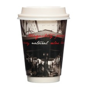 Hot Cup Double Wall - Arcade 12oz product photo