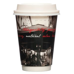 Hot Cup Double Wall - Arcade 16oz product photo