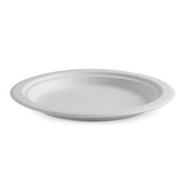 Sugarcane Plate White 228mm product photo