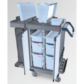 O2 CX Standard Cart with Door & Lid Kit product photo