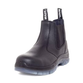 Tradie Slip On Safety Boot Black product photo