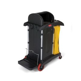 Janitorial Cleaning Cart with Doors and Hood High Security product photo