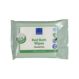 Bed Bath Wipes, 20 x 23cm, 8pc/pack product photo