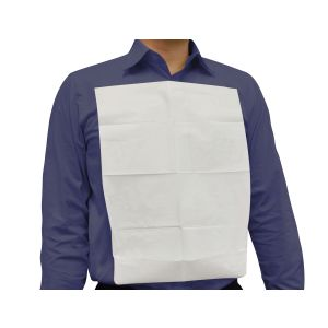 Clothing Protector, Disposable, White, 45 x 33cm product photo
